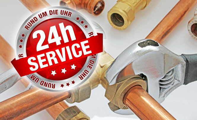 24 stunden service als soforthilfedienst f r den kunden die sanit r und heizungs profis. Black Bedroom Furniture Sets. Home Design Ideas